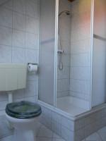 große Ferienwohnung - Badezimmer