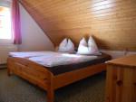 große Ferienwohnung - Schlafzimmer