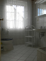 kleine Ferienwohnung - Badezimmer